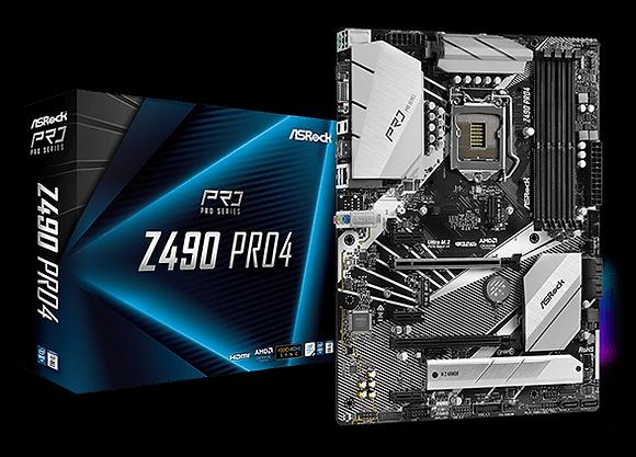 ASROCK Z490 PRO 4 (LGA 1200)