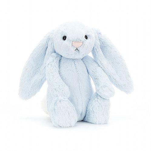 Jellycat   Bashful Blue Bunny (Medium)