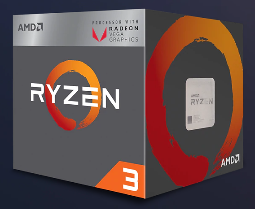 AMD RAVEN RIDGE RYZEN 3 - 2200G BOX (SOCKET AM4)