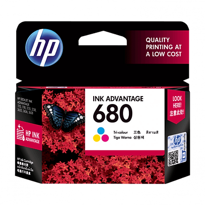 HP 680 TRI-COLOR ORIGINAL