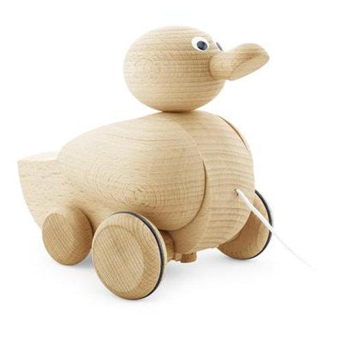 Wooden Pull Along Quacking Duck - Gigi