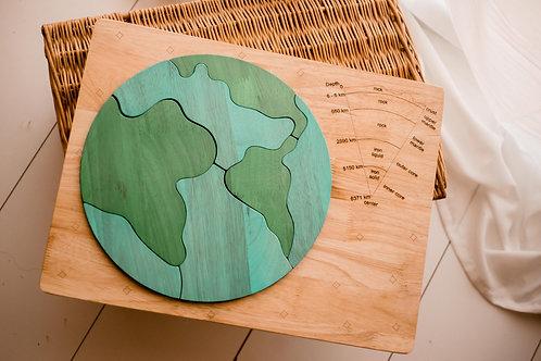 Qtoys | Earth Core Puzzle