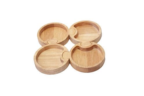 Qtoys | Round Puzzle Trays