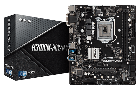 ASROCK H310CM-HDV/M.2 (LGA 1151 V2)