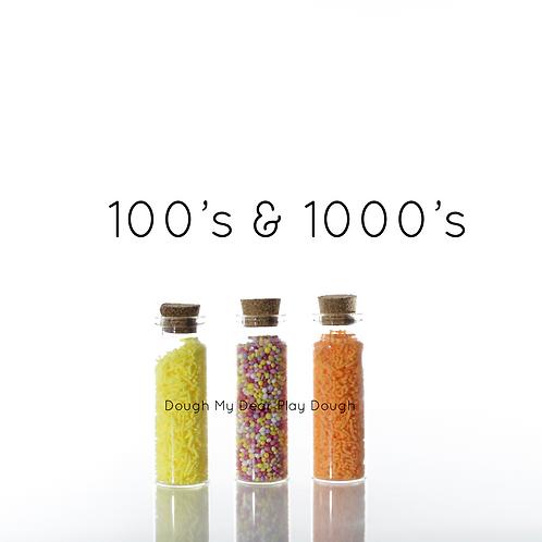 Dough My Dear | Trinket Trios 100's & 1000's