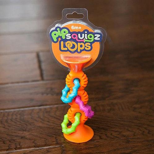 Fat Brain Toys   Pip Squigz Loops Orange