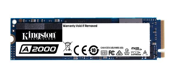 KINGSTON SSD A2000 250GB NVMe PCIe