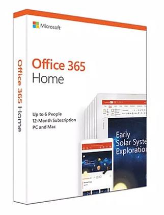 OFFICE 365 HOME ( 1 THN/ 6 PEOPLE) ORIGINAL