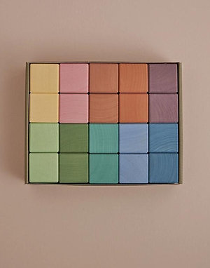 Raduga Grez | Earth Pastel Cubes (20 Set)