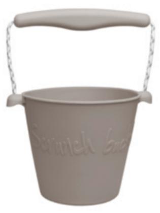 Scrunch Bucket (Warm Grey)