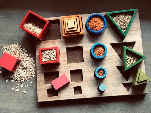 Qtoys | 3D Sorting & Nesting Board