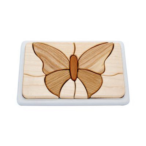 Wooden Mosaic Puzzle - Butterfly