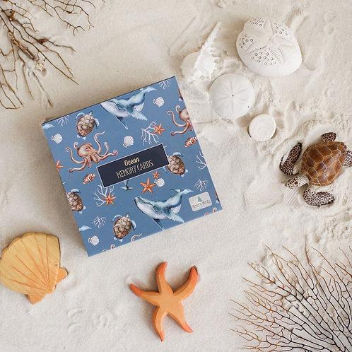 Modern Monty | Ocean Memory Card Game