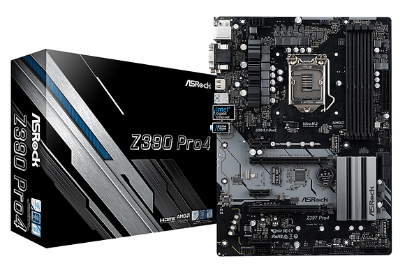 ASROCK Z390 PRO4  (LGA 1151)