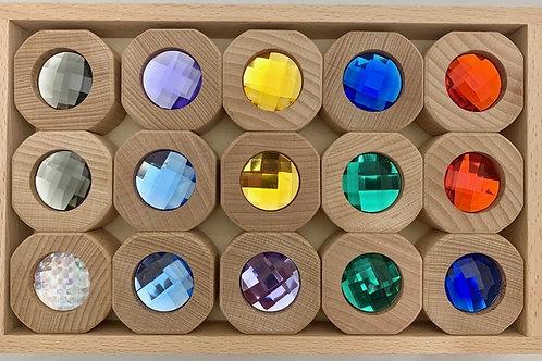 Papoose   Bitcoin Rainbow Set 15pc