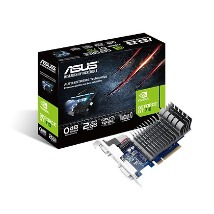 ASUS GEFORCE GT710-2SL / 2GB DDR5 64-BIT
