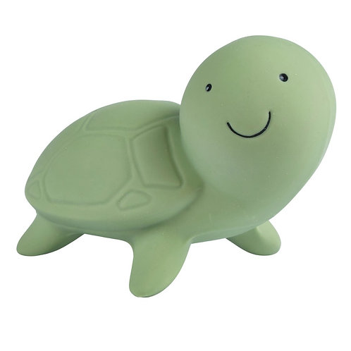 Tikiri | Natural Rubber Rattle and Bath Toy (Turtle)
