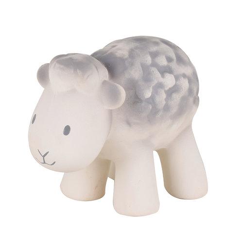 Tikiri | Natural Rubber Rattle and Bath Toy (Sheep)