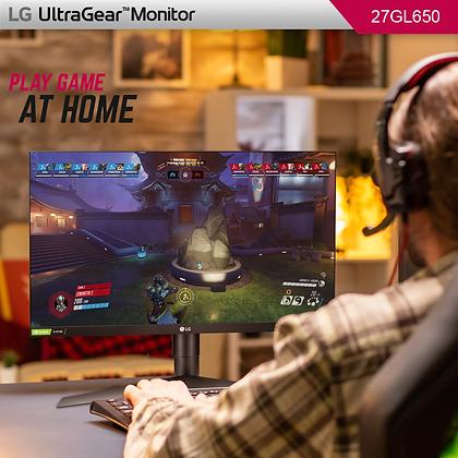 "LG ULTRAGEAR 27GL650F-B 27"" GAMING MONITOR"