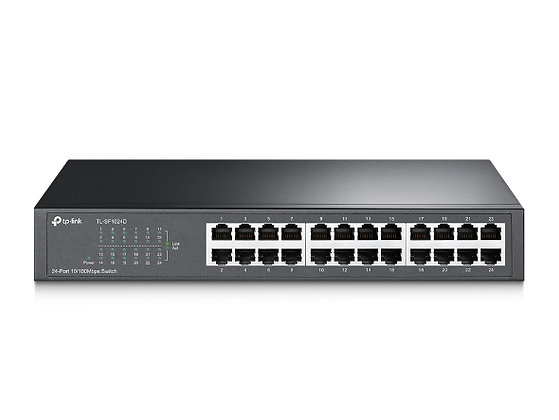 TP-LINK TL-SF1024D 24-PORTS HUB SWITCH