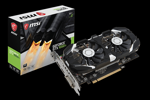 MSI GTX 1050Ti GT OC V1/ 4GB GDDR5 128-BIT