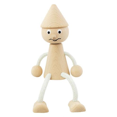 Wooden Sitting Pinocchio