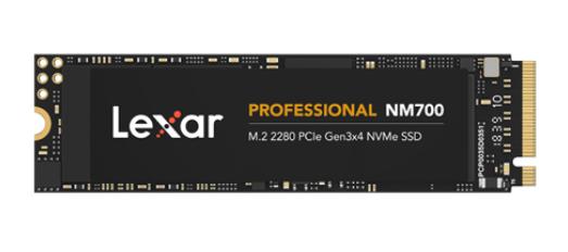 LEXAR PROFESIONAL NM700 512GB M.2 2280 NVME SSD
