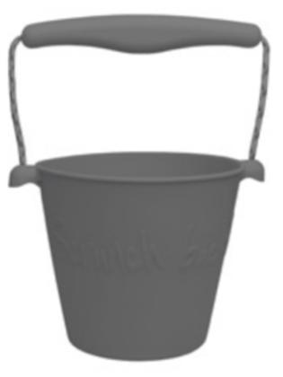 Scrunch Bucket (Cool Grey)