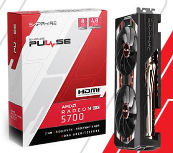SAPPHIRE PULSE RADEON RX 5700 8GB GDDR6 256-BIT