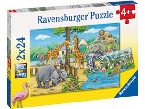 Ravensburger   Welcome To The Zoo Puzzle 24 Piece