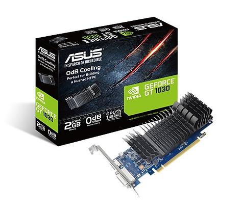 ASUS GEFORCE GT1030-SL-SG-BRK / 2GB DDR5 64-BIT