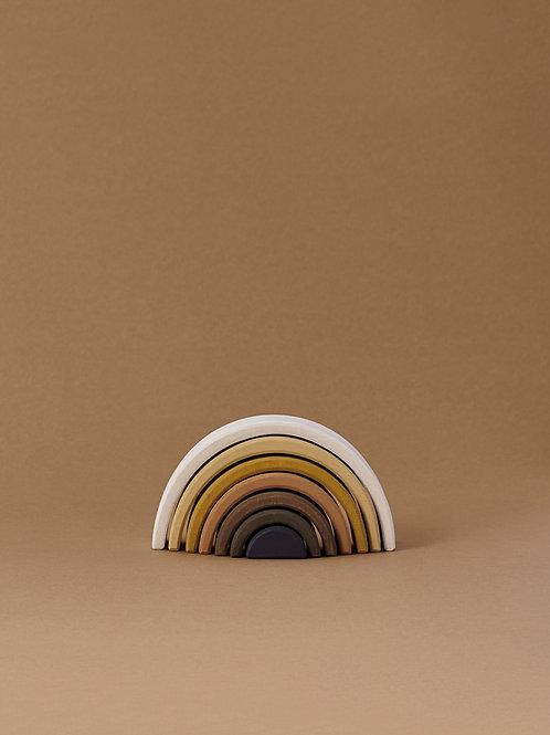 Raduga Grez | Skin Tone Arch Stacker (White & Black)