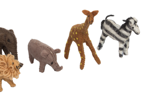 Papoose | African Animals 6pc
