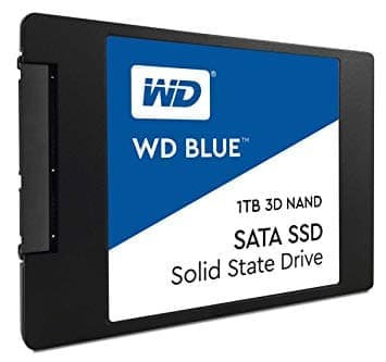 WD BLUE PC SSD 1 TB 3D NAND