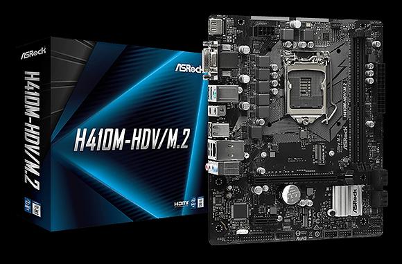 ASROCK H410M-HDV/M.2 (LGA 1200)