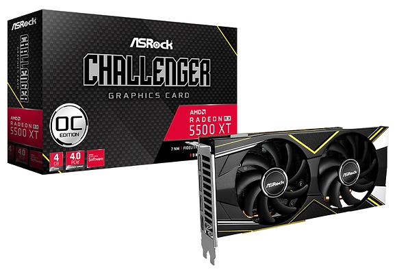 ASROCK RX 5500 XT CHALLENGER OC/ 4GB GDDR6 128-BIT