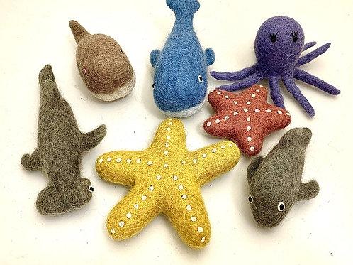 Papoose | Sea Animals 7pc