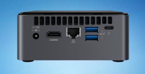 INTEL NUC NUC8I3CYSN2 CI3 HDD VGA WIN10