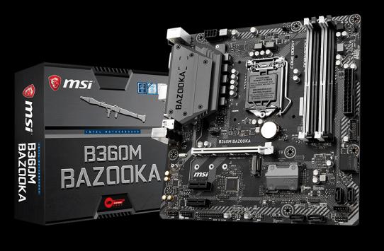 MSI B360M BAZOOKA (LGA 1151 V2)