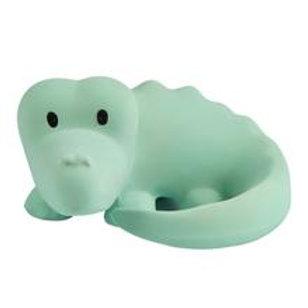 Tikiri | Natural Rubber Rattle and Bath Toy (Crocodile)