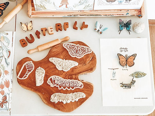 Kinfolk Pantry | Monarch Butterfly Lifecycle Eco Cutter Set