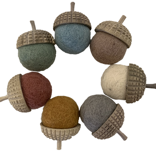 Papoose    Earth Acorns 7pc