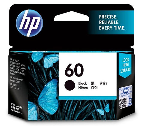 HP 60 BLACK ORIGINAL