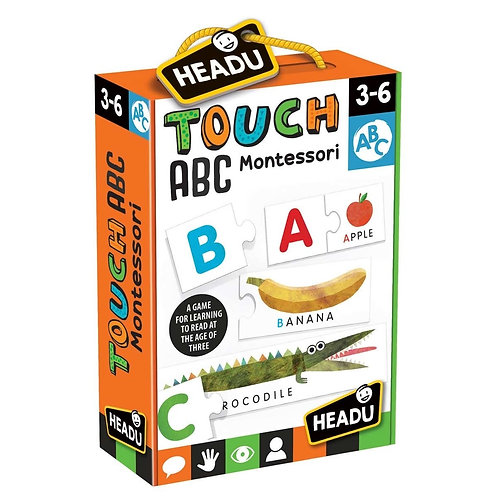 Headu | Montessori Touch ABC