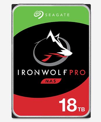 SEAGATE IRONWOLF PRO NAS 18TB