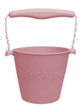 Scrunch Bucket (Dusty Rose)