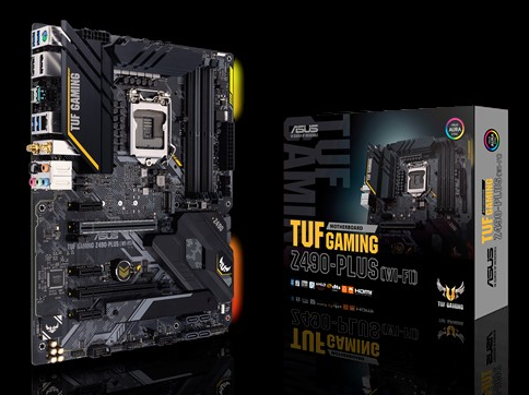 ASUS TUF GAMING Z490-PLUS (LGA 1200)