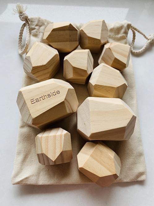 Earthside | Wooden Gems (Natural)