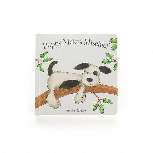 Jellycat | Puppy Makes Mischief Book