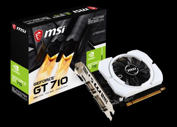 MSI GT710/ 2GB DDR3 64-BIT